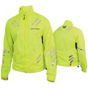 Куртка мотоциклетная (текстиль) Safety Jacket Лимонный